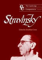 The Cambridge Companion to Stravinsky PDF