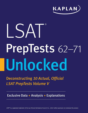 Kaplan Companion to LSAT PrepTests 62 71