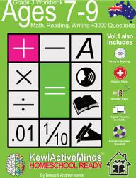 Year 3  Ages 7 9 Math  Reading  Writing Practice Workbook   HomeSchool Ready  3000 Questions PDF