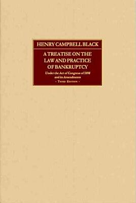 A Treatise on the Law and Practice of Bankruptcy PDF