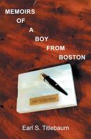Memoirs of a Boy from Boston PDF