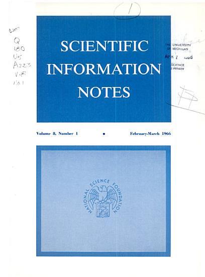 Scientific Information Notes PDF