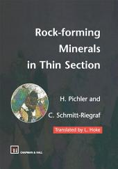 Rock-forming Minerals in Thin Section: Edition 2