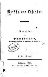 Neffe und Oheim: Novelle, Band 1