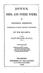 Songs, Odes, and Other Poems, on National Subjects: Naval