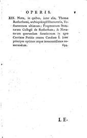 Liber niger Scaccarii: nec non Wilhelmi Worcestrii Annales rerum Anglicarum, cum præfatione et appendice Thomæ Hearnii ad editionem primam Oxoniæ editam