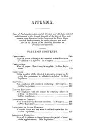 Appendix to the Senate Journal for the Session of 1848-9