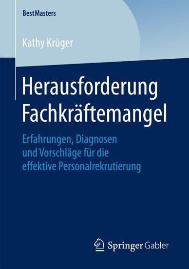 Herausforderung Fachkr  ftemangel PDF