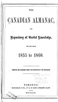 The Canadian Almanac and Repository of Useful Knowledge PDF
