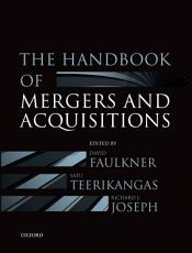 The Handbook of Mergers and Acquisitions PDF