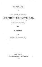 Sermons ... With a memoir, by T. M. Hanckel. [Edited by J. H. H., Jr.]
