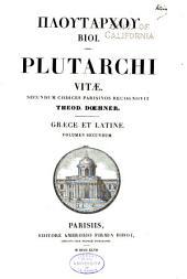 Ploutarchou Bioi: Plutarchi Vitae, Volume 2