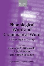 Phonological Word and Grammatical Word