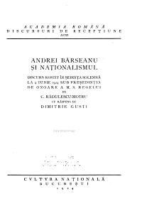 Discursuri de Receptiune PDF