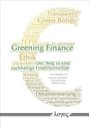 Greening Finance PDF