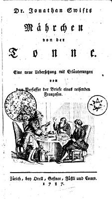 Dr  Jonathan Swifts M  hrchen von der Tonne PDF