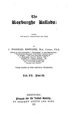 The Roxburghe Ballads PDF