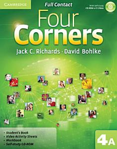 Four Corners Level 4 Full Contact A with Self study CD ROM Book