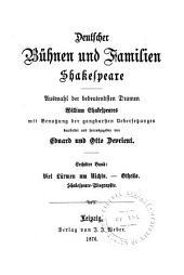 Deutscher Bühnen und Familien Shakespeare: Viel Lärmen um Nichts