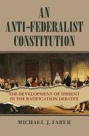 An Anti Federalist Constitution PDF