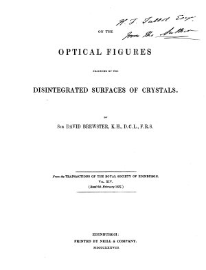A Miscellaneous Collection of Pamphlets on Optics, Astronomy, Electricity, Light, and Mathematics