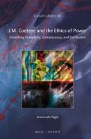 J M  Coetzee and the Ethics of Power PDF