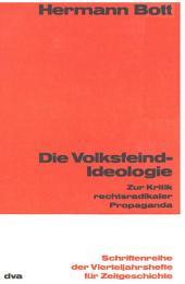 Die Volksfeind-Ideologie: Zur Kritik rechtsradikaler Popaganda