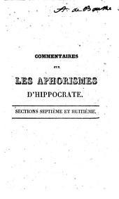 Commentaires sur les aphorismes d'hippocrate: Volume3
