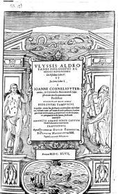 Vlyssis Aldrovandi [...] De piscibus libri V. et de cetis liber I.