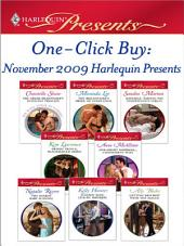 One-Click Buy: November 2009 Harlequin Presents: The Greek Billionaire's Innocent Princess\The Billionaire's Bride of Innocence\Raffaele: Taming His Tempestuous Virgin\Desert Prince, Blackmailed Bride\One-Night Mistress...Convenient Wife\The Diakos Baby Scandal