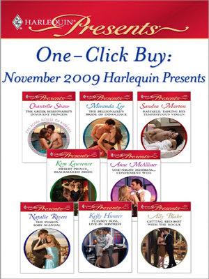 One Click Buy  November 2009 Harlequin Presents PDF