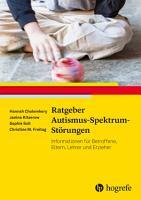 Ratgeber Autismus Spektrum St  rungen PDF