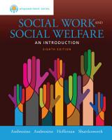 Empowerment Series  Social Work and Social Welfare PDF