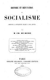 Histoire et réfutation du socialisme depuis l'antiquité jusqu'à nos jours