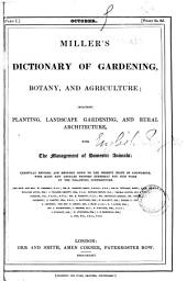 Miller's dictionary of gardening, botany, and agriculture; revised
