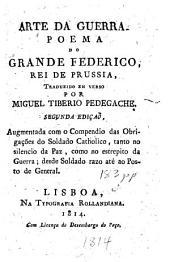 Arte da guerra poema do Grande Federico, rei de Prussia