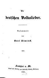 Die deutschen Volkslieder