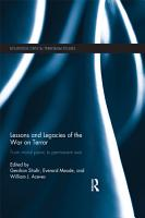 Lessons and Legacies of the War on Terror PDF