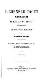 Annalium ab excessu divi Augusti