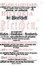 Gründliche und ausführliche Historia der Graffschafft Gleichen
