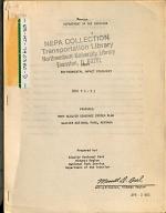 Glacier National Park (N.P.), Many Glacier Sewerage System Plan