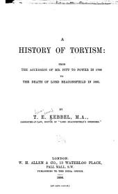 A History of Toryism