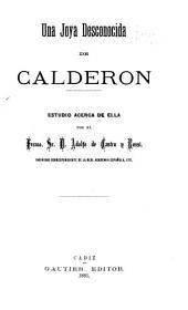 Una joya desconocida de Calderón: estudio acera de ella