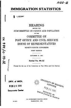 Immigration Statistics PDF