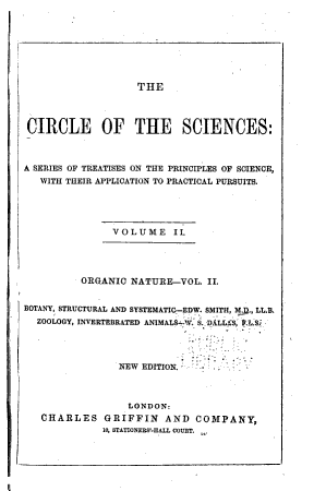 The Circle of the Sciences PDF