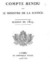 Comptes rendus par les ministres: Volume23