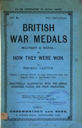 British war medals, military & naval; and how they were won