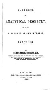 Elements of Analytical Geometry, and of the Differential and Integral Calculus