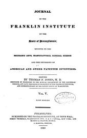 Journal of the Franklin Institute: Volume 5; Volume 9