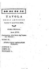 Storia Universale Sacra, E Profana del Signor Giacomo Hardion Tomo XXIX